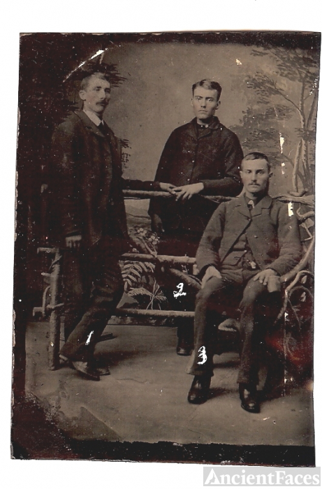 Theriault, LeBlanc and Godbout, late 1800's?