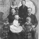 August and Maria Peters family