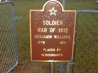 Williams, Benjamin Monument