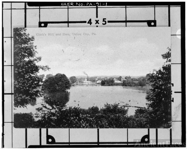 1. Photocopy of postcard, c, 1890s. VIEW LOOKING...