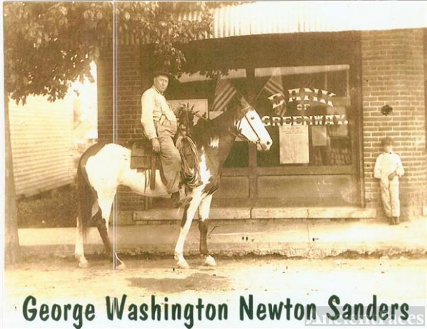 Great-grandfather George W. Sanders