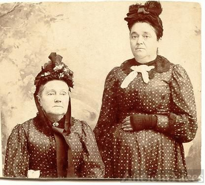 Charlotte Houtz and dau Mary Frances Helm