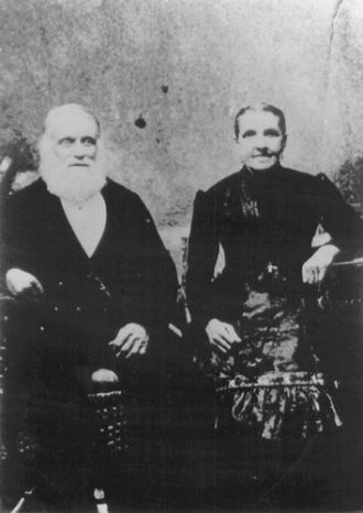 Caleb Clark Baldwin and wife Ann Eliza Robinson
