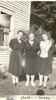 Ruth, Clara, and Grace Carr