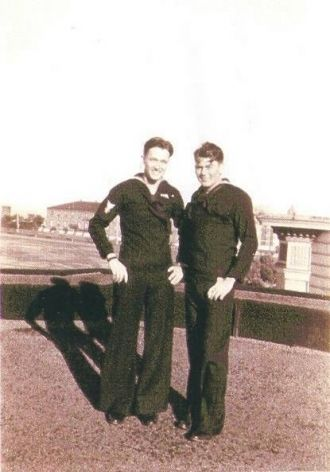 WWII Navy Buddies and Devoted Friends