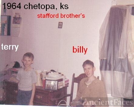 terry and billy stafford 1964 Kansas