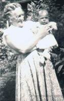 Catherine Gunning and Me 1956