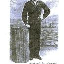 herbert in a blue Navy Uniform