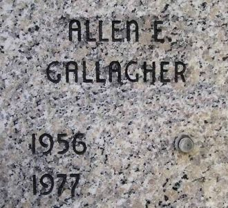 Cript of Allen E Gallagher (Paxson)