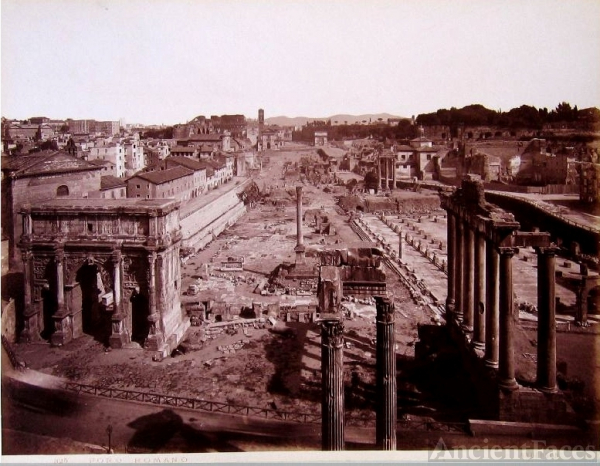 The Roman Empire and Roman Forum