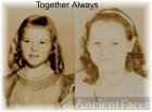Judy Jenkins and Alice Weeks(Jenkins) at about the same age.
