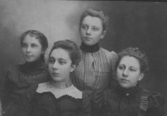 A photo of Christine, Louise, Loretta, Katherine