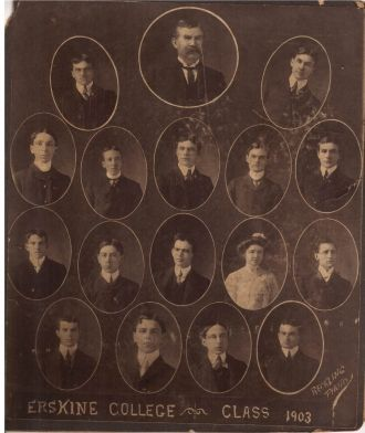 Erskine College Class of 1903