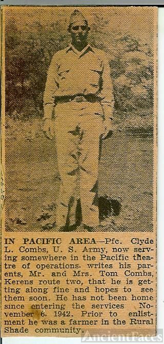 PFC Clyde L. Combs