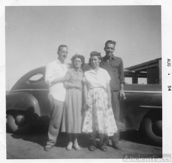 Don Baker, wife Elaine, Emma Baker, husband William Henry Dole