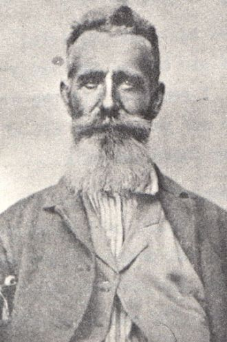 JEREMIAH T. VAUGHT-MY GR-GRANDFATHER-B. 1814 IN PULASKI CO., KY-D. FEB.23, 1875, PULASKI CO., KY