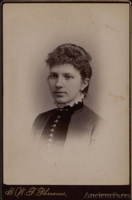 Fanny Wagner Photo Card