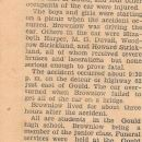 1934 Obituary Emery Brownlow Accident Victim