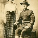 Ivan Raymond  and wife Florence Edna