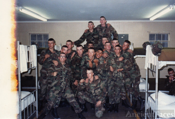 Part of SOI B Co. 1-88 0311 3rd Platoon Camp