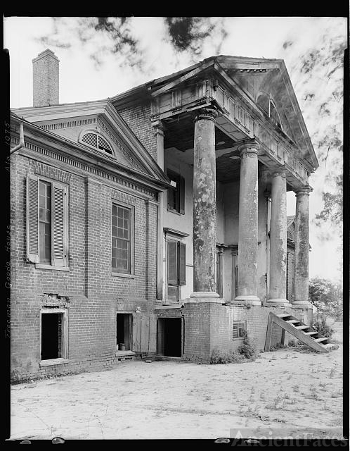 Freeman Good Mansion, Town Creek vic., Lawrence County,...