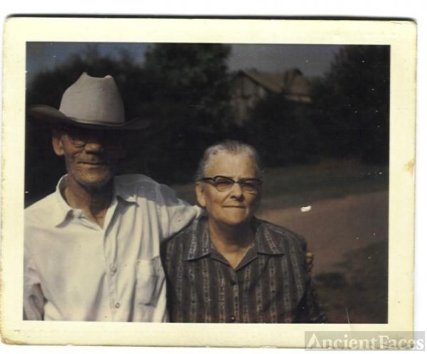 Mamaw (Vonnie Mae) and Papaw (Erastus) Cottrell