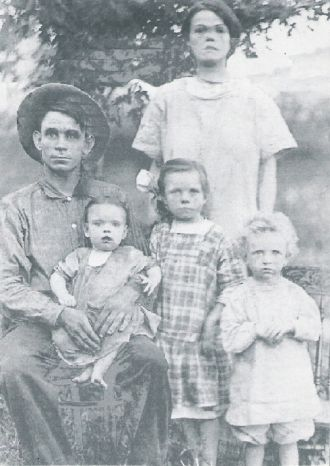 The Oscar Marion Johnson, family