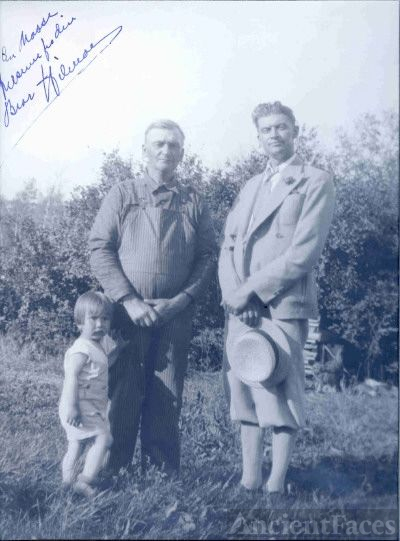 Grandpa, Great Uncle Hilmar Ronning Andersen