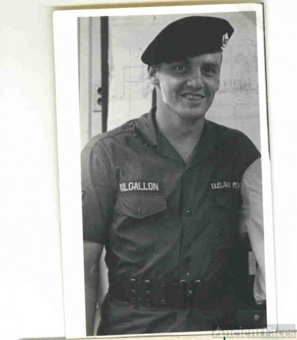 Robert Donald Kilgallon, Sgt