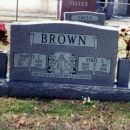 Harvey and Ethel Dollar-Brown headstone