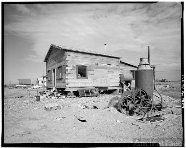 11. LOG CABIN, FRONT ST. - City of Nome, Nome, Nome...