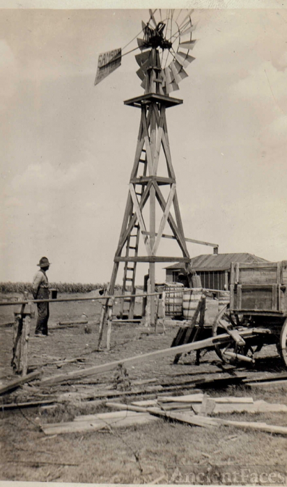 Windmill on White Wing Ranch