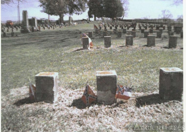 Col. Wm H. Bishop's Tombstone At McGavock, #34