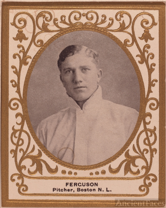 George Ferguson Baseball Card 1909