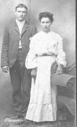 James(Jim)Vaughn and unknown woman
