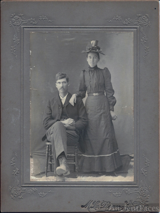 unidentified couple, North Carolina
