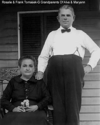 Frank and Rosalie Tomasek