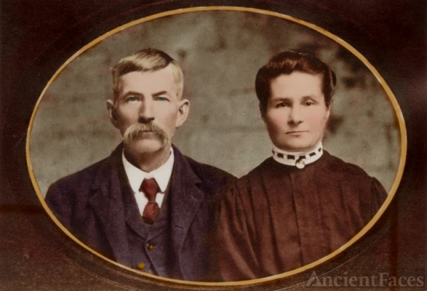 William Henry Baughman & Jemima Lame Baughman