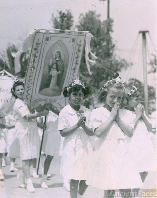 St Vincent's orphanage, 1948 LA