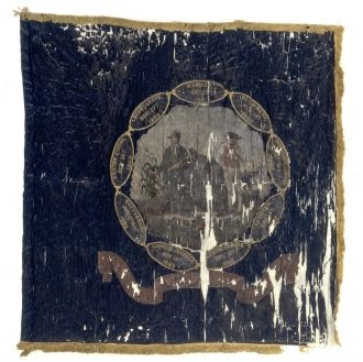 7th West Virginia regimental flag