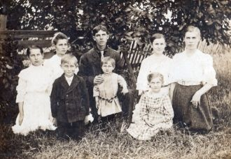 Kleinknight children 1906