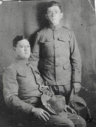 Gordon and Walter 'Flit' Hibbard, KY 1918