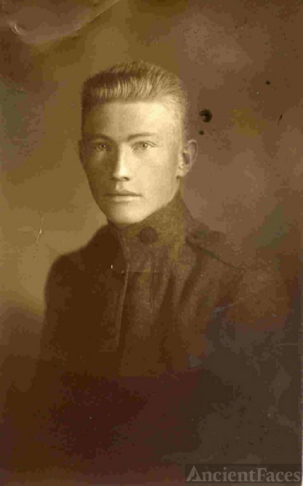 Young man in uniform