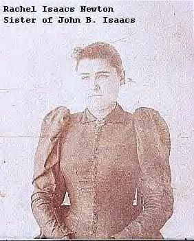A photo of Rachel Isaacs Newton