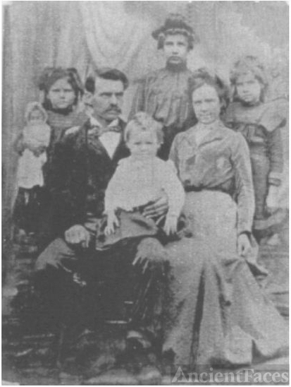 William Franklin James Family