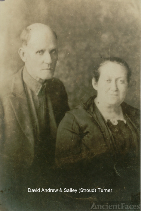 "David and Sarah ""Salley"" (Stroud) Turner"