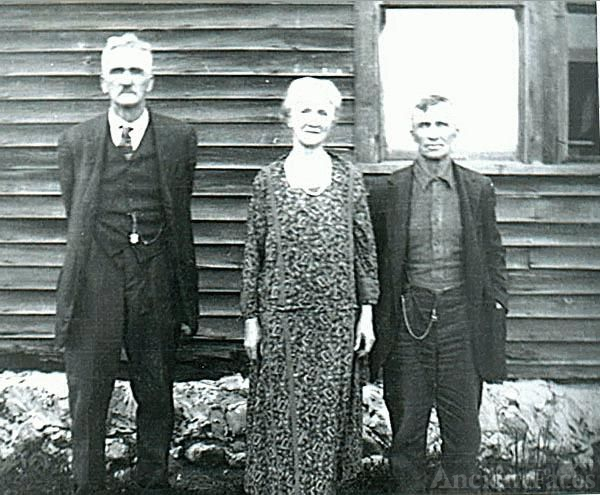 Mitchell, Mary, & Samuel Brown