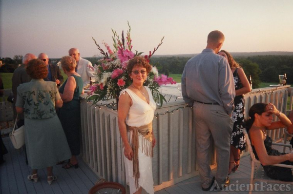 Gloria Hebert Carr at family wedding
