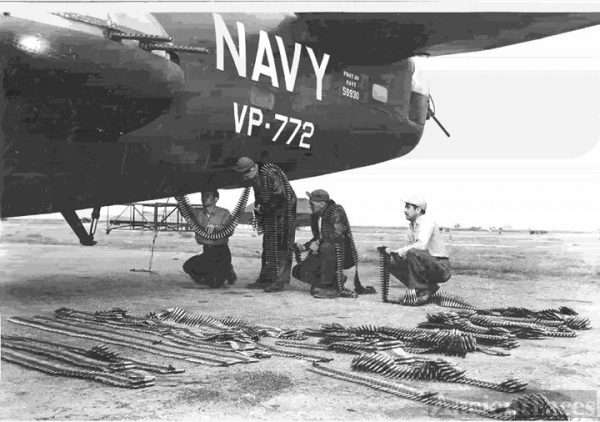 Navy PB4Y loads for combat