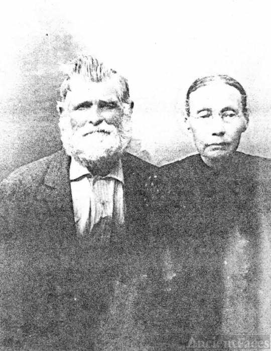 Thomas and Sarah Davenport